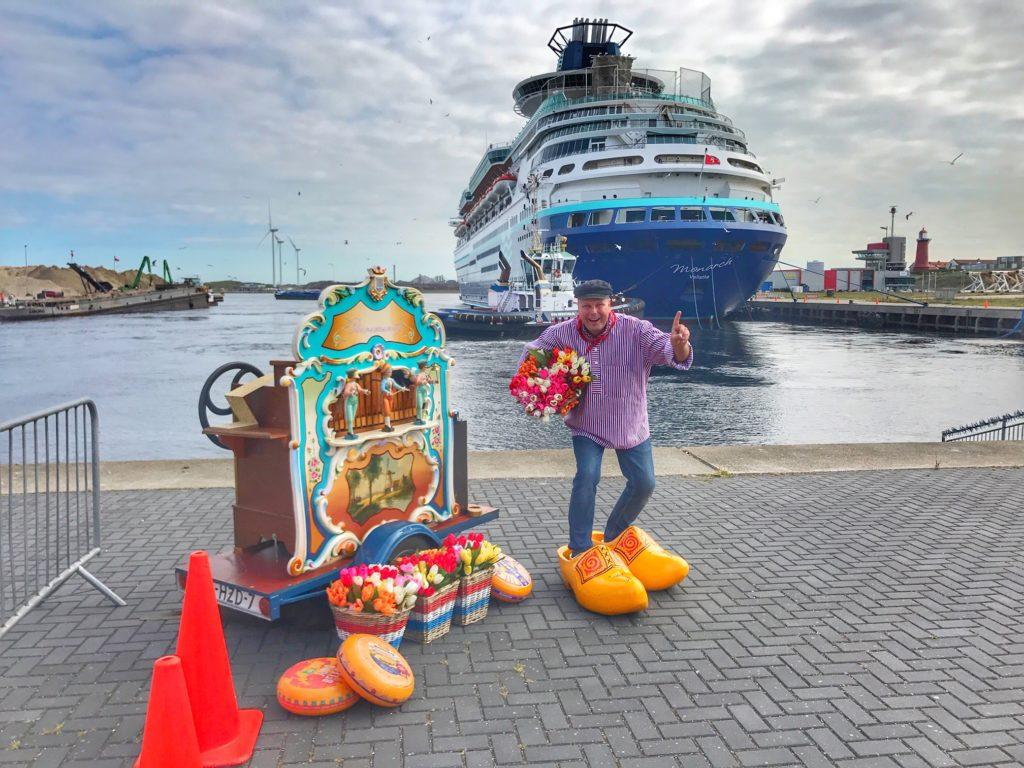 draaiorgel cruisehaven PTA Ijmuiden