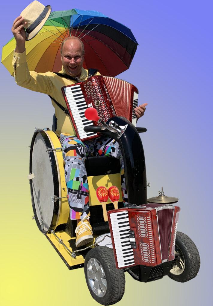 Muziek op wielen